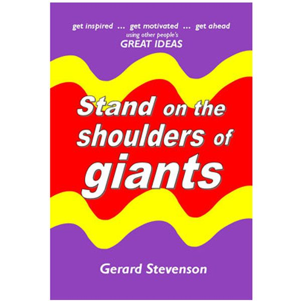 book stand on the shoulders of giants